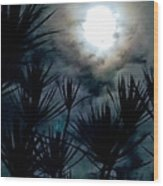 Overhead  Wood Print