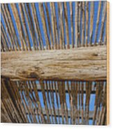 Overhead Shelter Wood Print