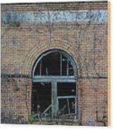 Overholt Distillery Wood Print