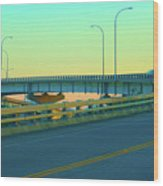 Overpass Wood Print