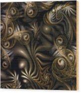 Overrun Wood Print