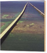 Overseas Highway Wood Print