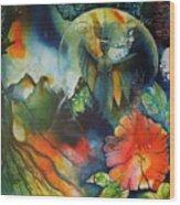 Overseer By Reina Cottier Wood Print