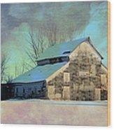 Owasa Barn 3 Wood Print