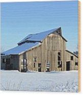Owasa Barn Wood Print