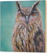Owl No.5 Wood Print
