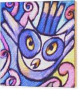 Owlett Wood Print