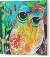 Owlette Wood Print