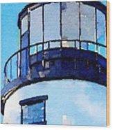 Owls Head Light House Wood Print