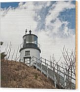 Owl's Head Lighthouse 4761 Wood Print