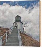 Owl's Head Lighthouse 4764 Wood Print