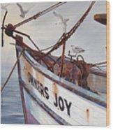 Owners Joy Wood Print