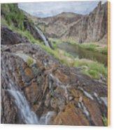 Owyhee River 1 Wood Print