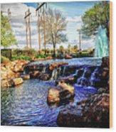 Oyster Creek Wood Print