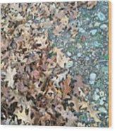Ozark Autumn Wood Print