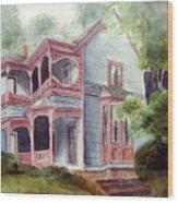 Ozark Cottage Wood Print