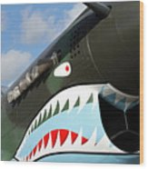 P-40 Flying Tigers Wood Print