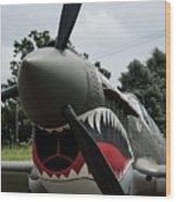 P - 40 Warhawk - 5 Wood Print