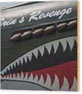 P-40 Warhawk Wood Print