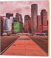 p1070558  Red City Wood Print