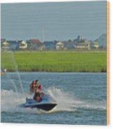 P8038801 Jet Skis Wood Print