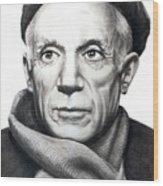 Pablo Picasso Wood Print