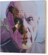 Pablo Picasso Portrait  Wood Print