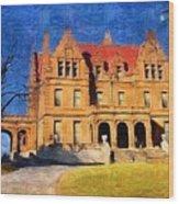 Pabst Mansion Wood Print