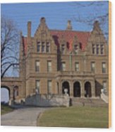 Pabst Mansion Photo Wood Print