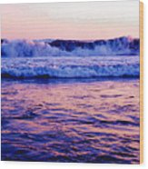 Pacifac Sunset 23 Wc Wood Print