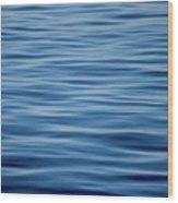 Pacific Brush Strokes Wood Print