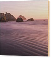Pacific Cathedral Wood Print