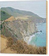 Pacific Coast Highway Dreams Wood Print