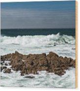 Pacific Coast Wood Print