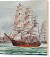 Pacific Fleet Wood Print