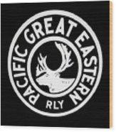 Pacific Great Eastern Wood Print