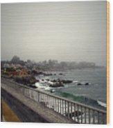 Pacific Grove California Usa Wood Print