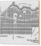 Pacific Grove May 7 1887 Wood Print