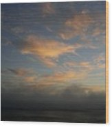 Pacific Grove Sunrise Wood Print