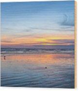 Pacific Northwest Sunrise Wood Print