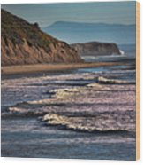 Pacific Ocean I Wood Print