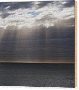 Pacific Storm Wood Print