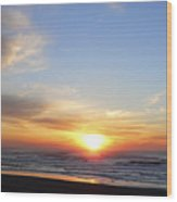 Pacific Sun Wood Print