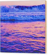 Pacific Sunset 42  Wood Print