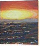 Pacific Sunset Wood Print