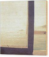 Pacific Window Wood Print