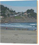 Pacifica California Wood Print