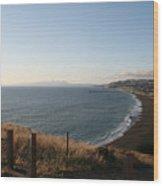 Pacifica Shoreline Wood Print