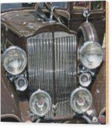 Packard Club Sedan Hood Wood Print