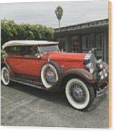 Packard Wood Print